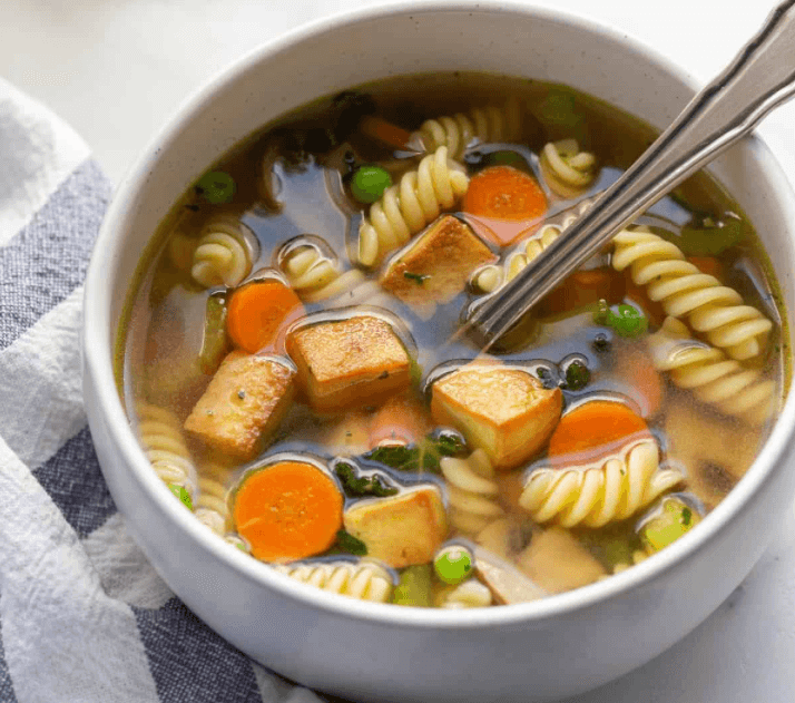 tofu noodle soup vegan