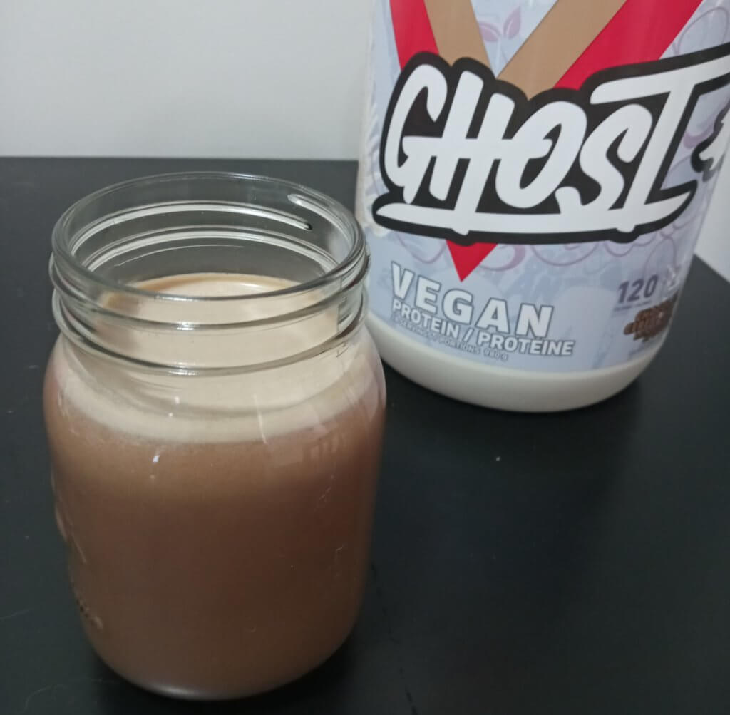 ghost protein shake
