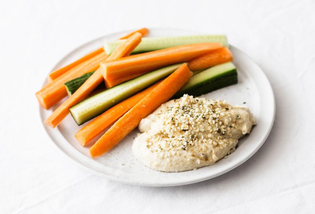 high protein vegan hummus