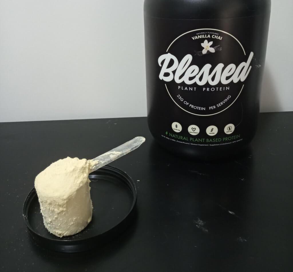 blessed vegan protein powder