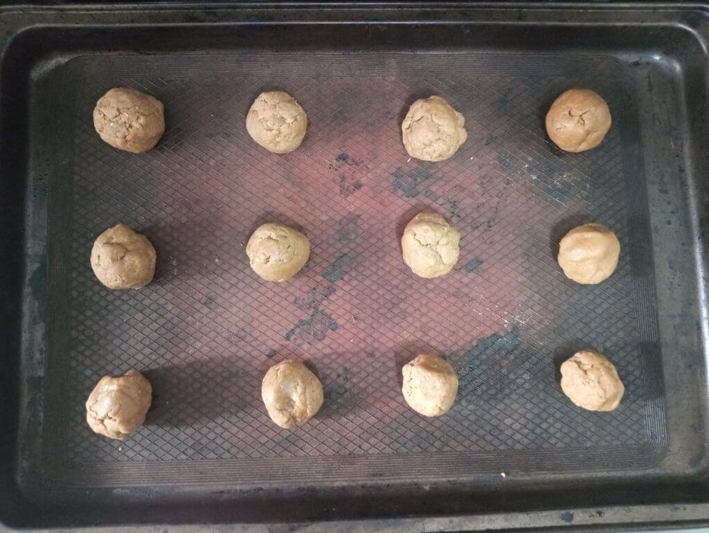 vegan peanut butter protein dough balls