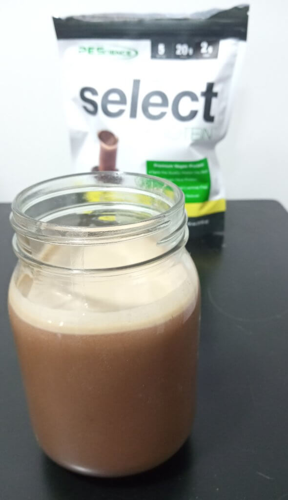 pescience vegan shake