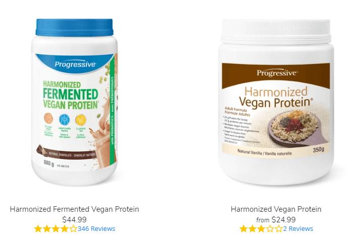 progressive harmonized products