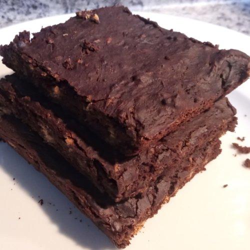 vegan protein powder brownies