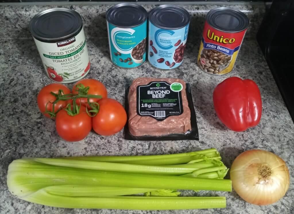 vegan protein chili ingredients